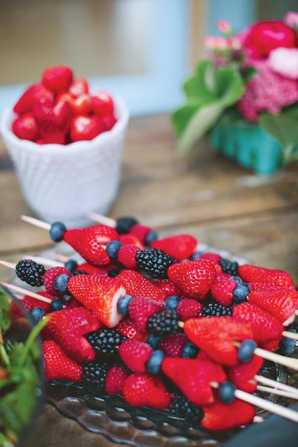 Berry Kebab